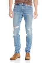Levi's Strauss 511 Men's Slim Fit Premium Distressed Denim Jeans 511-1853