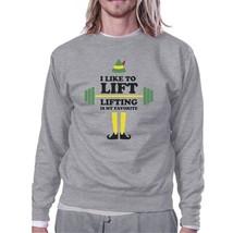I Like To Lift Lifting Is My Favorite Grey Sweatshirt - $20.99+