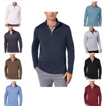 Tasso Elba Men's Supima Cotton 1/4 Zip Sweater , MSRP 75 $ - $22.99