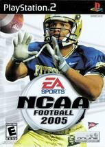 NCAA Football 2005 - PlayStation 2  - $2.79