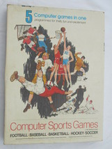 Computer Sports Games Data Control 5 Computer Games in 1 Tested And Work... - $30.00