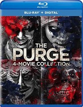 The Purge: 4-Movie Collection (Blu-ray + Digital, 2018)
