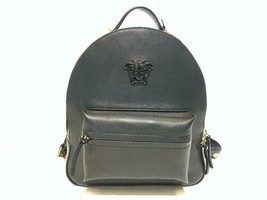 Versace New Small Black Leather Backpack  - $1,574.50