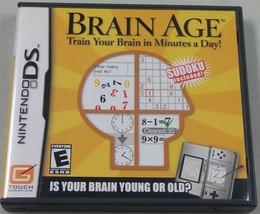 Brain Età: Treno il Tuo Brain in Minuti A.Giorno (Nintendo DS, 2006) - $3.95