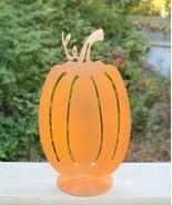 Pumpkin Cutout Porch Décor Autumn Fall Halloween Ornament Amish Made in USA - £10.90 GBP