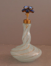 Vintage Irice Import Made in Italy Perfume Bottle with Jeweled Spritzer ... - $126.56