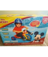 Disney Junior Mickey Mouse Cruiser Ride On Bike 3 Wheel With Sound Effects Jakks - $39.55