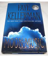 Moon Musique Par Faye Kellerman 1998, Couverture Rigide, U.S.A - $15.80