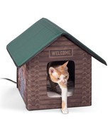 Outdoor Kitty House Designer Cat Shelter (Heated or Unheated) - $173.99+