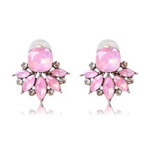 Ztech 2017 New Fashion Chic Flower Stud Earrings For Women Popular Jewel... - $20.00