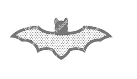 Bat Shaker DIGITAL File.  Instant Download. PNG & SVG Files.  No Physical Items