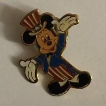 Topolino Uncle Sam Spilla da Bavero - Vintage 1989 Walt Disney Inc Eastm... - $39.59
