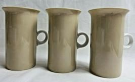 "Fitz and Floyd Cappuccino Coffee Latte Tea Drinking Cup Mug Tan White 4.5"" - $29.99"