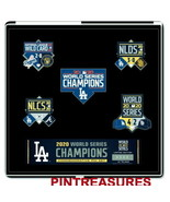 Los Angeles Dodgers 2020 World Series Champions Commemorative Numbered 5 Pin Set - $32.50