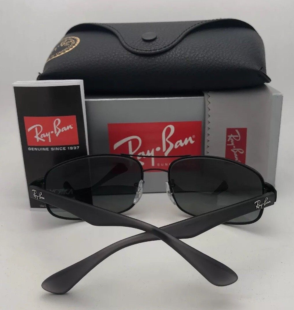 RAY-BAN Sunglasses RB 3445 012/13 61-17 130 Matte Brown Frame w/ Brown Gradient