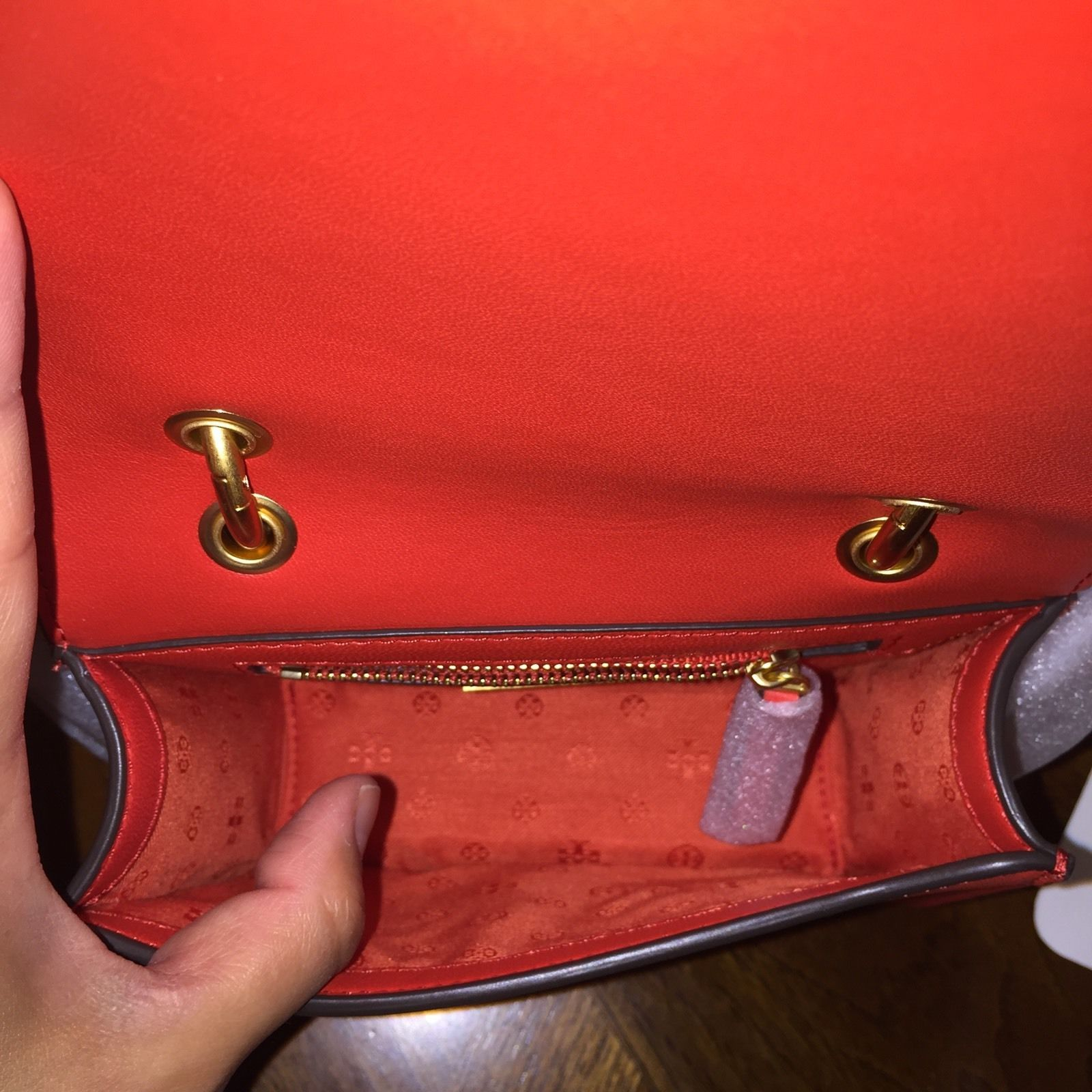 NWT TORY BURCH ALEXA SUEDE CONVERTIBLE MINI SHOULDER BAG IN SAMBA