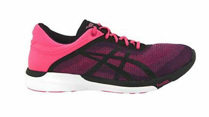 Asics Fusex Rush 2 Größen 9.5 M (B) Eu 41.5 Damen Laufschuhe Pink T768n-2090