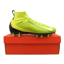 Nike Vapor Untouchable Pro 3 Football Cleats Size 10.5 Yellow Black 917165-701 - $59.35