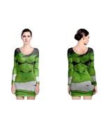 Incredible Hulk Long Sleeve Bodycon Dress - $28.99 - $34.99