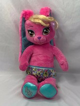 "Build A Bear Honey Girl HG Rise Pink Rock Star Bunny Rabbit Sings 20"" Plush - $24.19"