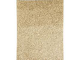 "Darice Self Stick Gold Glitter Paper 8.5x11"" #2511-57 image 1"