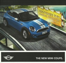 2012 Mini COOPER COUPE deluxe sales brochure catalog S 12 US VHTF - $20.00