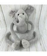 "FAO Schwarz 20"" Elephant Plush Tug-A-Lug ToysRUs Pull Arms Legs Stuffed Animal - $10.88"