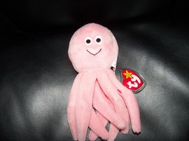 TY Original Beanie Baby INKY the Octopus w/PVC  Pellets NEW LAST ONE - $32.00