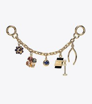Tory Burch Lucky Charm Chain Key Fob image 2