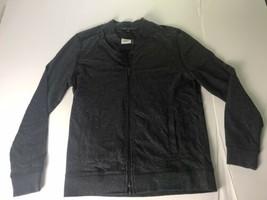 robert barakett Jacket Mens L Charcoal  - $37.40