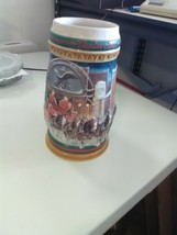 1997 Budweiser Stein - Clydesdales - Home for the Holidays - $5.51