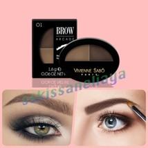 VIVIENNE SABO BROW ARCADE Powder Duo 01 Blonde New Image & Accentuate 2x... - $12.15