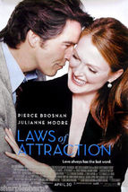 2004 LAWS OF ATTRACTION Pierce Brosnan Julianne Moore Movie Poster 11x17 - $7.99