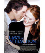 2004 LAWS OF ATTRACTION Pierce Brosnan Julianne Moore Movie Poster 11x17 - $7.99