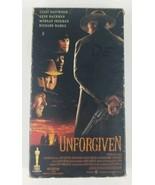 Unforgiven VHS 1993 Warner Bros Feat Clint Eastwood Gene Hackman Morgan ... - $6.79