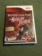Mystery Case Files: The Malgrave Incident (Nintendo Wii, 2011) NEW & Sealed - $18.69