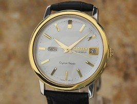Citizen Crystal 7 Vintage Men's 37mm 1960s Vintage Made in Japan Auto Wa... - $459.60