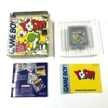 Nintendo Game Boy Gameboy Yoshi Puro Puzzle Panic Gioco Scatola Manuale ... - $49.13 CAD