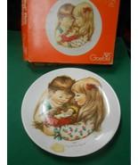 Great GOEBEL Collector Plate CHARLOT BYI 1977 CHRISTMAS- W.Germany - $6.52