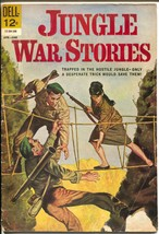 Jungle War Stories #3 1963-Dell-Vietnam War-Viet Cong-VG- - $37.83