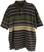 Vintage Tommy Hilfiger 1985 Men's Striped Polo Short Sleeve XL  - $23.40