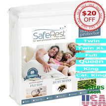 Mattress Pad Protector Hypoallergenic Topper Cover Pillow Top Bed Best F... - $44.99+
