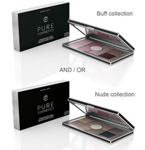 Pure Cosmetics Nouveau BUFF or NUDE Eyeshadow Collection Shimmer Velvety... - $33.50
