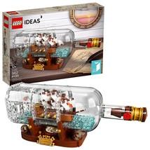 LEGO Ideas Ship in a Bottle 21313 Expert Building Kit Model Ship, Collec... - $77.09