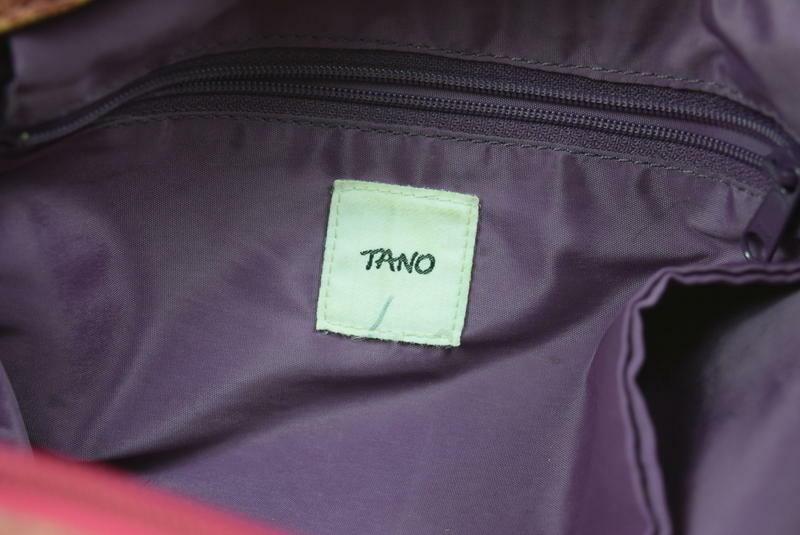 Tano Red Leather Hobo Shoulder Bag Studded Harness Strap Satchel Purse Medium image 9