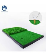 Golf Mat with Rubber Tee for Driving Hitting Chipping Putting Artificial... - $112.67