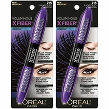 L'Oréal Paris Makeup Voluminous X Fiber Mascara with Black Primer - $20.63