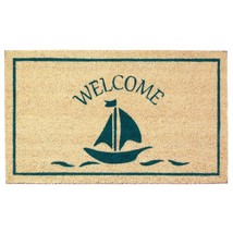 Coir Welcome Mat, Decorative Outdoor Welcome Doormat - €30,60 EUR