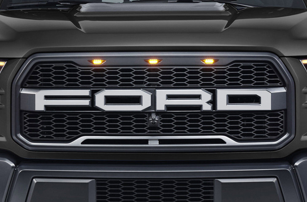 Vinyl Decal Wrap RALLY STRIPE for Ford F-150 15-17 MATTE BLACK SuperCrew 5.5 Bed