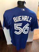 MENS SIZE 50 MLB Baseball Jersey TORONTO BLUE JAYS #56  MARK BUEHRLE - $40.78